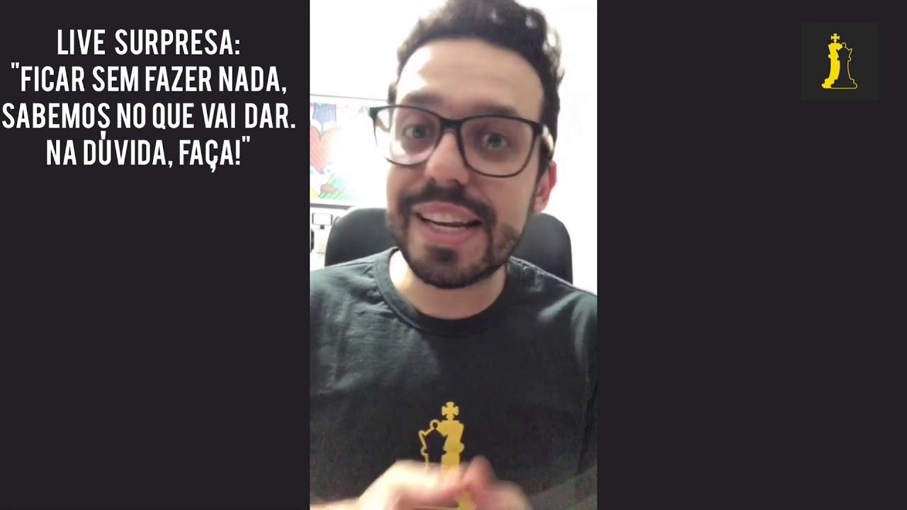 LIVE URGENTE: Na Dúvida, Faça!