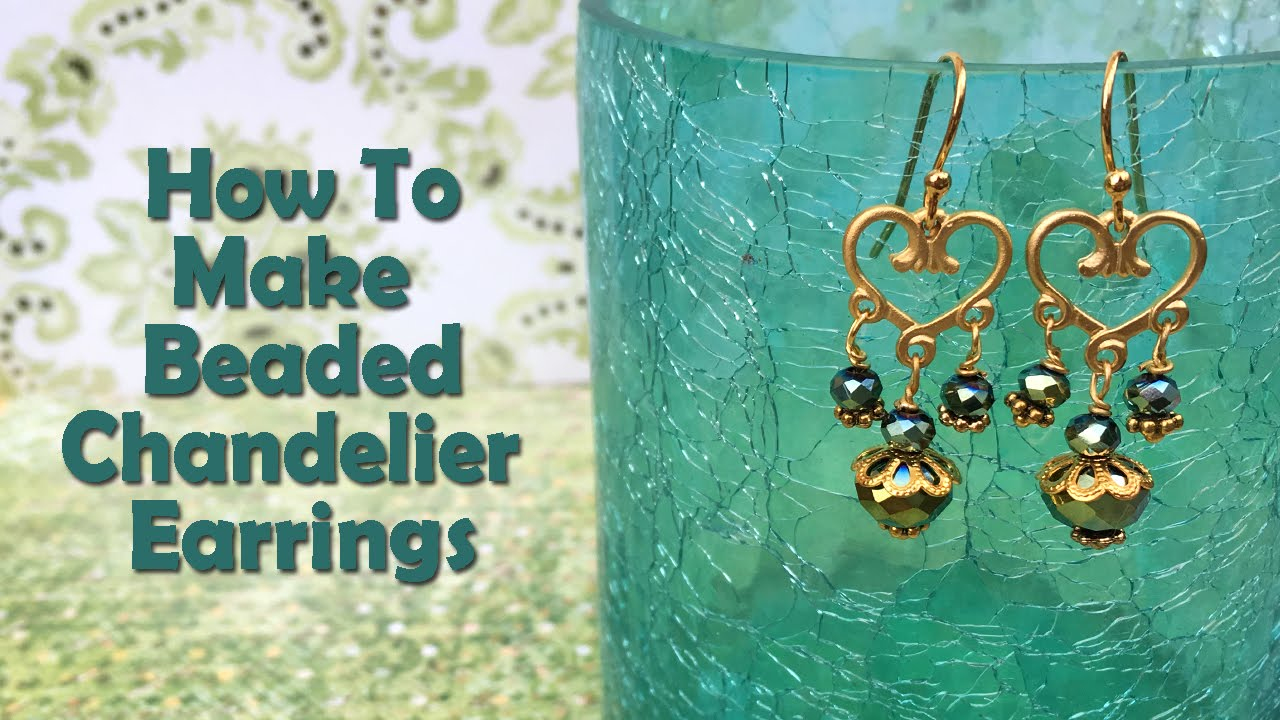 How to make jewelry how to make beaded chandelier earrings youtube how to make jewelry how to make beaded chandelier earrings mozeypictures Choice Image