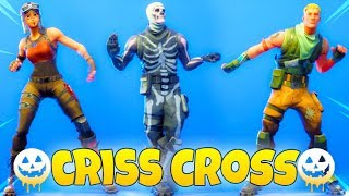 *NEW* Fortnite Criss Cross EMOTE With Popular Skins..! (MYTH Emote!?)