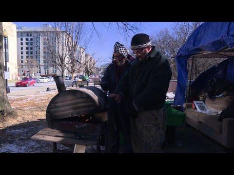 Washington homeless braced for deep freeze