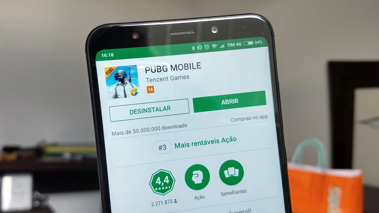 Redmi 5 Plus: Roda PUBG Mobile Nos Gráficos Mais Altos