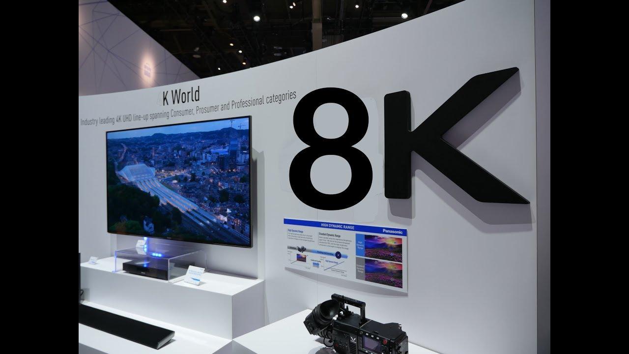 Hasil gambar untuk tv 8k Consumer Electronic Show 2019