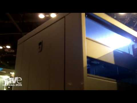InfoComm 2015: Lowell Talks About LCDR Rack for Control Systems