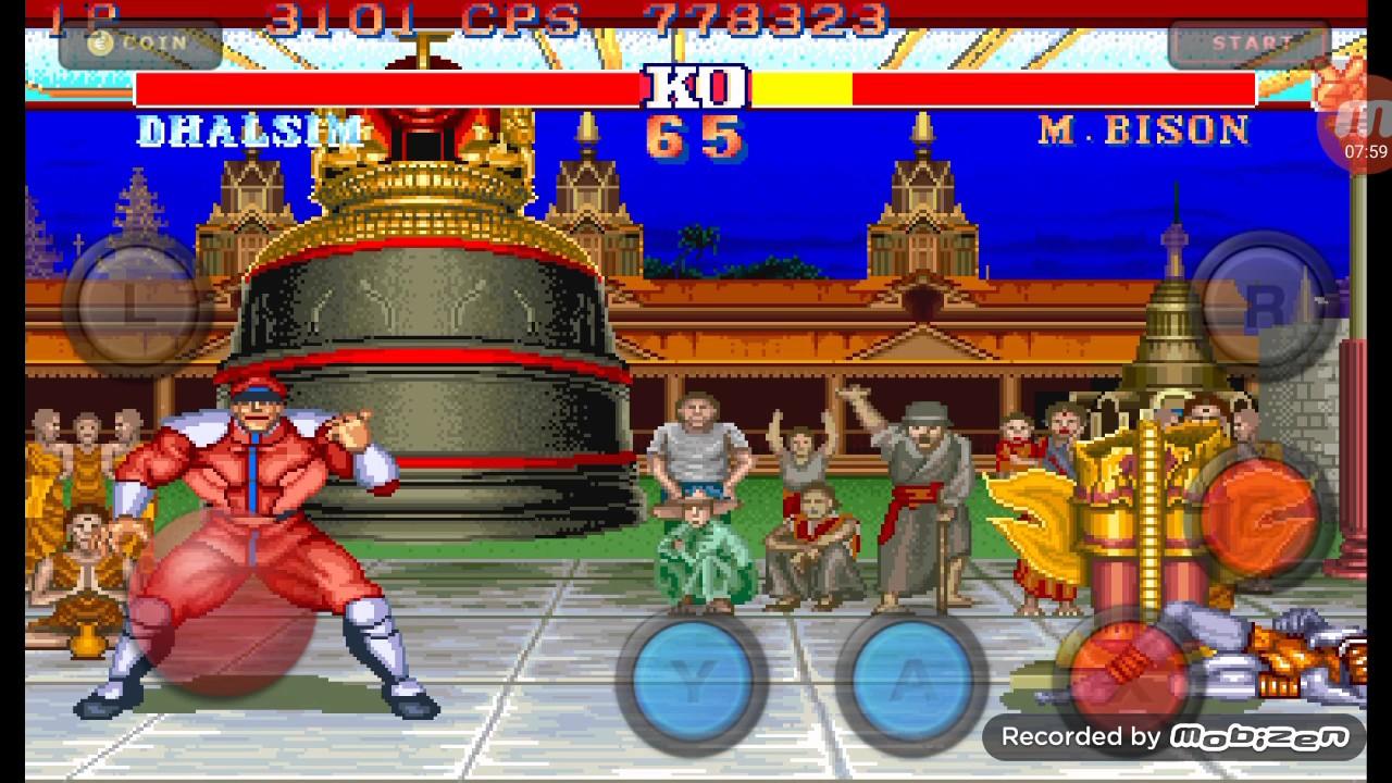 Streetfighter Spiel