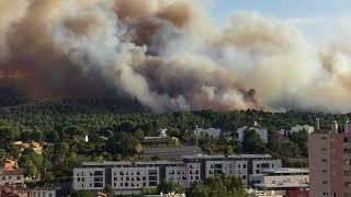 Incendie Aubagne