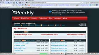 How to join peerfly and earn money