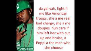 Popcaan ft Busta Rhymes - Only Man She Want (REMIX) LYRICS ON SCREEN {Feb 2012}