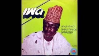 LATE ALHAJI SIKIRU AYINDE BARRISTER .... IWA `(COMPLETE ALBUM)