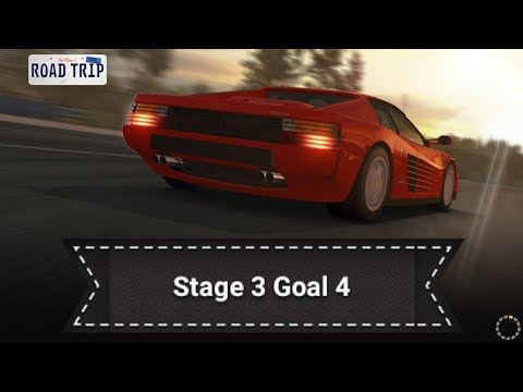 Real Racing 3 RR3 - Road Trip - Stage 3 Goal 4 ( Upgrades = 1211111 )