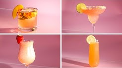 Rosé Cocktails 4 Ways