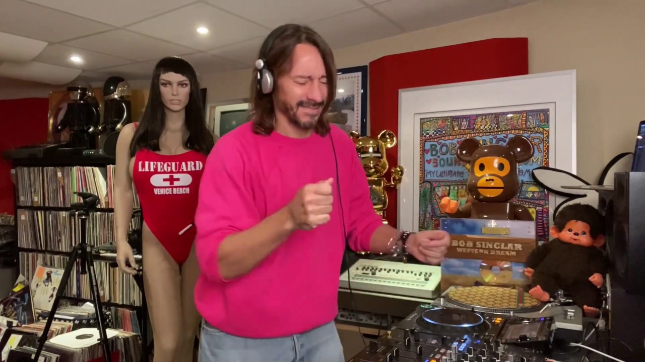 Bob Sinclar - Live from Paris (Glitterbox Virtual Festival) - YouTube EDMTunes Live Stream Awards