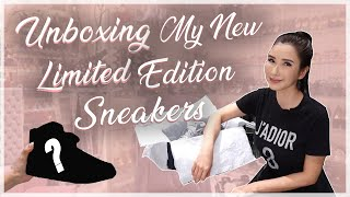 UNBOXING MY NEW LIMITED EDITION SNEAKERS | JAMIE CHUA