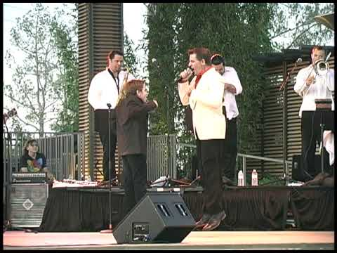 Louis Prima Jr. With His Son Anthony