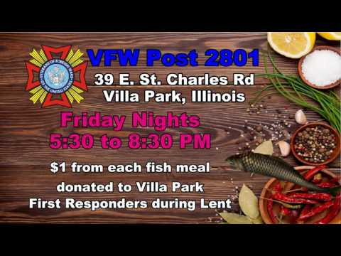 VFW Fish Fry February - March - 2016