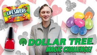 Create Magic Tricks with ONLY $3! (Dollar Store Magic Challenge)