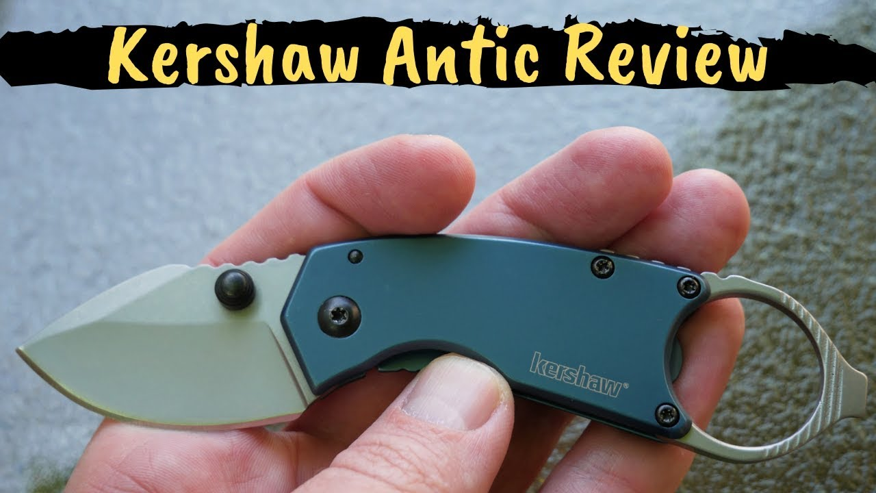 Kershaw Antic 8710 Folding Pocket Knife Review Mini Multi Tool Also