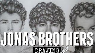 Drawing: Jonas Brothers