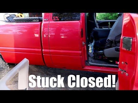 Fixing a rear door on 2nd GEN CUMMINS *wont open*