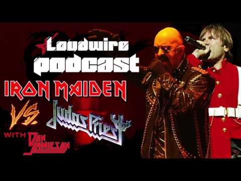 Loudwire Podcast #23 - The Iron Maiden vs. Judas Priest Debate (with Don Jamieson)