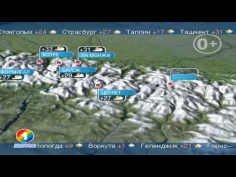 Карта погоды Online