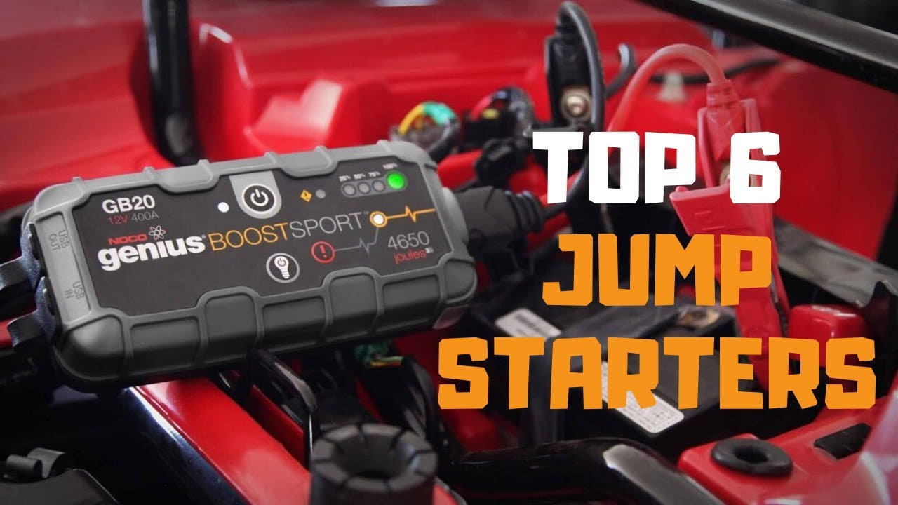 Jump Box For Cars >> Best Jump Starter In 2019 Top 6 Jump Starters Review