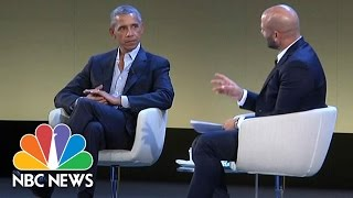 What Barack Obama Doesn't Miss About The White House | NBC News