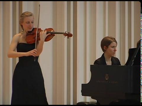 Elfentanz transcribed for Viola and Piano | Helena Baillie, Viola and Martina Baillie, Piano