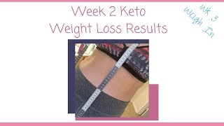 Keto Weight Loss Results  Wk 3 Weigh In