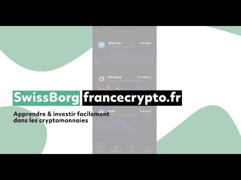 SwissBorg - Investir dans les cryptomonnaies au meilleur prix
