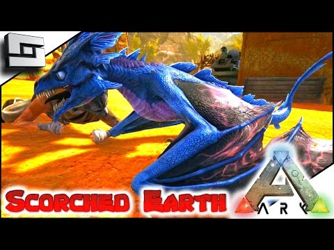 ARK: Scorched Earth - BEAVER'S LIGHTNING WYVERN! E19 ( Scorched Earth Map Gameplay )