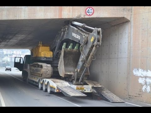 Heavy Equipment Accidents Caught On Tape, Heavy Equipment Disasters, Excavator Fail Compilation