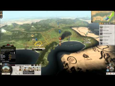 Shogun Total War 2: Rise of the Samurai part 2: Huge... tracks of land!  
