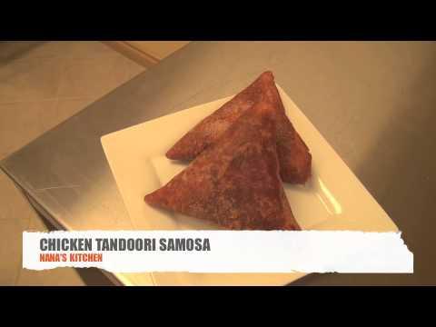Tandoori chicken samosa recipe
