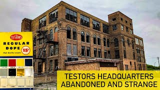 TESTORS Model Paint Headquarters | Illinois Urban Exploration