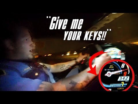 POLICE JOYRIDE MY LAMBORGHINI AFTER PULLING ME OVER!!!