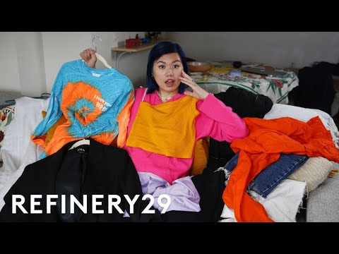 I Tried Capsule Wardrobe Using Only 7 Items | Refinery29