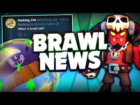 BRAWL NEWS! - Brawl Talk Date Estimation, Second Balance Changes & More! - Brawl Stars