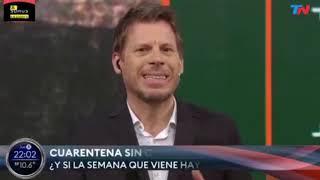 EL INSÓLITO ADEMÁN DE DIEGO LEUCO QUE SE HIZO VIRAL