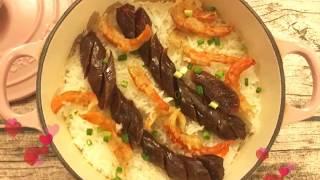 蝦干臘腸煲仔飯