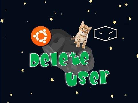 Ubuntu Delete User with Command Line