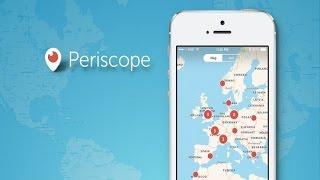 Periscope- Транслируем видео в реальном времени со всем миром  на Android