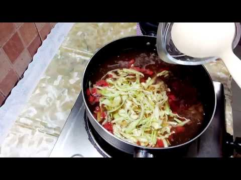 Hot And Sour Chicken Soup Recipe_ Chinese Restaurant Style Hot & Sour Soup By Cooking & Fun Sharing