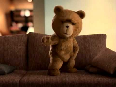 Ted being raunchy