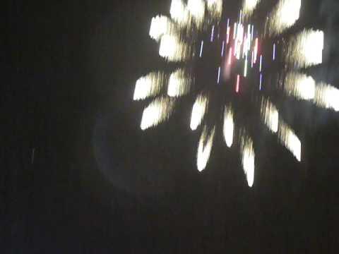 Diwali fireworks in London at Neasden 2008