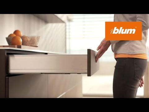 TIP-ON BLUMOTION for drawers: two functions - fascinatingly combined | Blum
