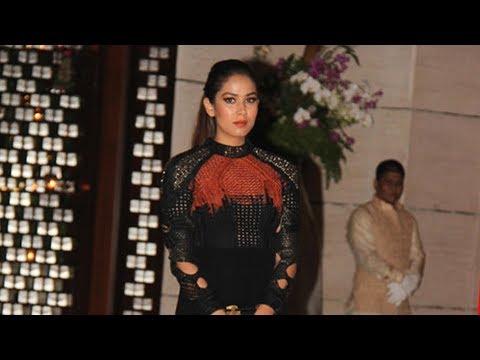 Shahid Kapoor's Wife Mira Rajput At Ambani's Grand Party 2017