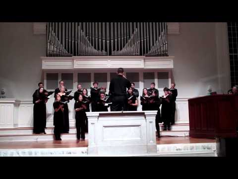 """Introitus"", mvmt. 1 of Lux Aeterna by Morten Lauridsen (Concordia Chamber Choir)"