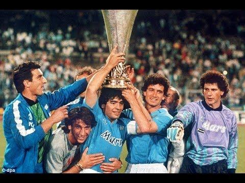 Esto pasaba un 17 de Mayo: Nápoli campeón de la Copa UEFA con ...