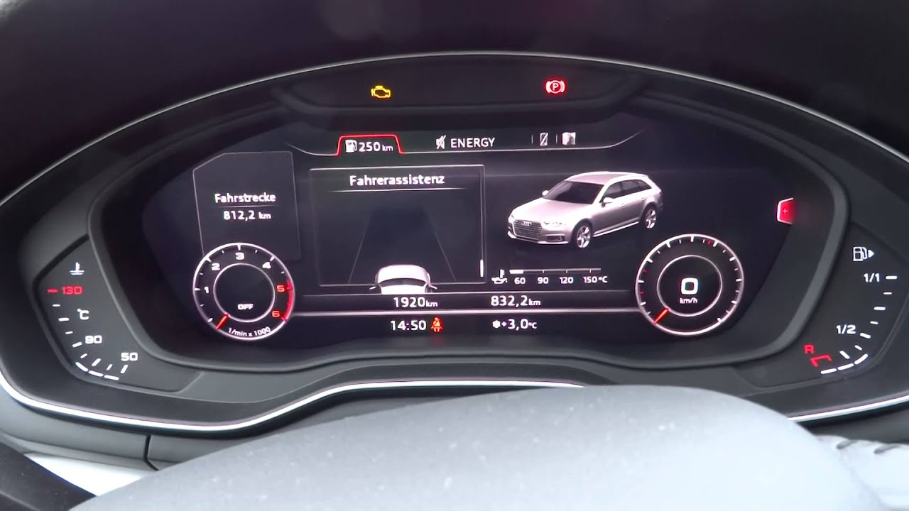 Audi Rs Q5 >> Audi A4 B9 8W 2.0TDI 150PS Virtual Cockpit, MMI, Tacho ...
