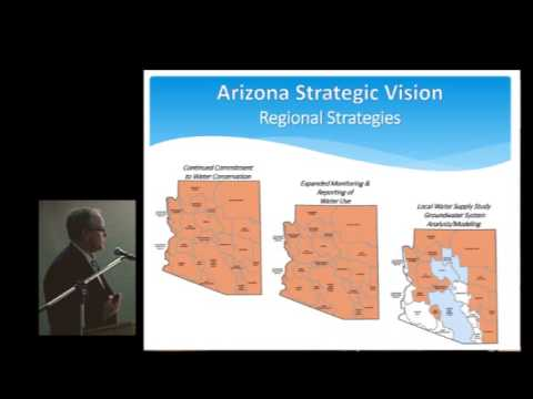 """ADWR's """"Strategic Vision for Water Supply Sustainability"""" 2014"""